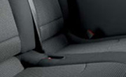 Lima black seat covers